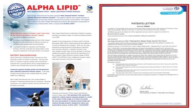 Bằng sáng chế công nghệ độc quyền alpha lipid