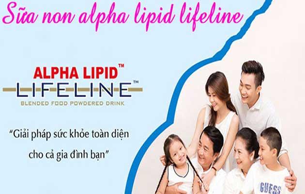 Sữa non alpha lipid đối với sức khỏe con người