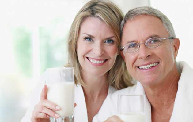 Sữa non đối với người già