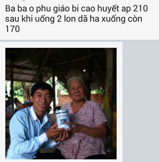 Nhân chứng sử dụng sữa non alpha lipid - Bà Ba