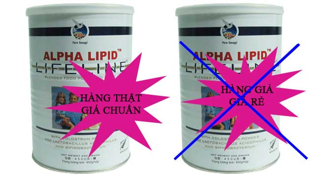 Sữa non alpha lipid chính hãng tại suanonalphalipidlifeline.net