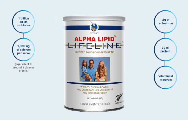 Sữa non alpha lipid lifeline - New Image