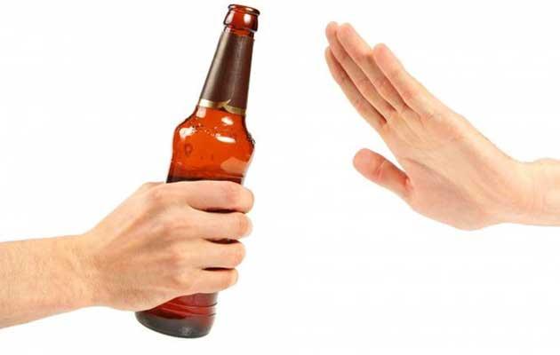 Từ chối rượu bia