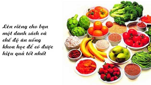 Chế độ ăn uống khoa học để tăng chiều cao