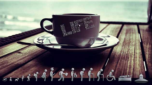 Dừng chân đề chiêm nghiệm cuộc sống.
