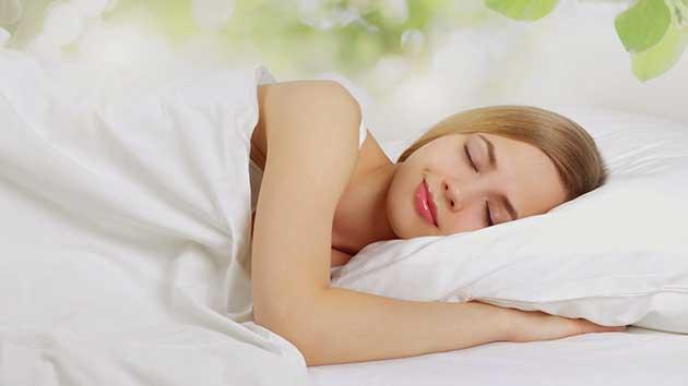 Ngủ một giấc thật thoải mái.