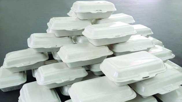 Nguy cơ ung thư khi sử dụng hộp xốp Trung Quốc.