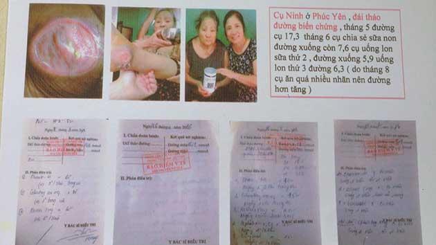 Nhân chứng sử dụng sữa non alpha lipid - Cụ Ninh.