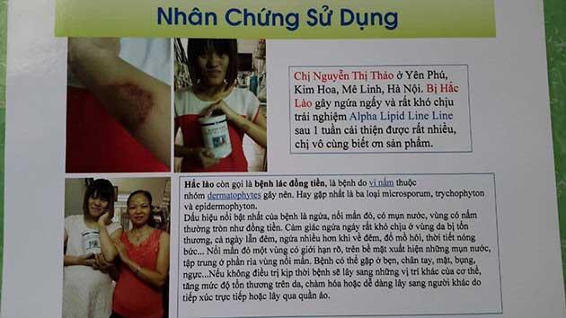 Nhân chứng sử dụng sữa non alpha lipid - Nguyễn Thị Thảo.