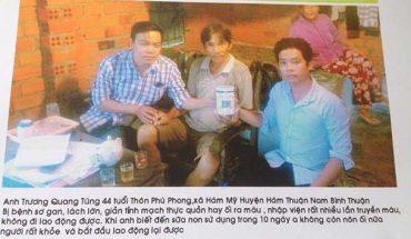 Nhân chứng sử dụng sữa non alpha lipid - Chú Trương Quang Tùng.