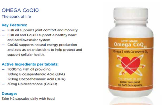 Thành phần và công dụng của Omega CoQ10