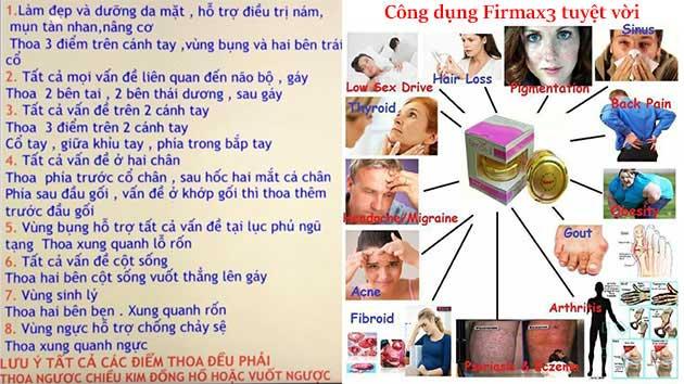 Công dụng của Firmax3
